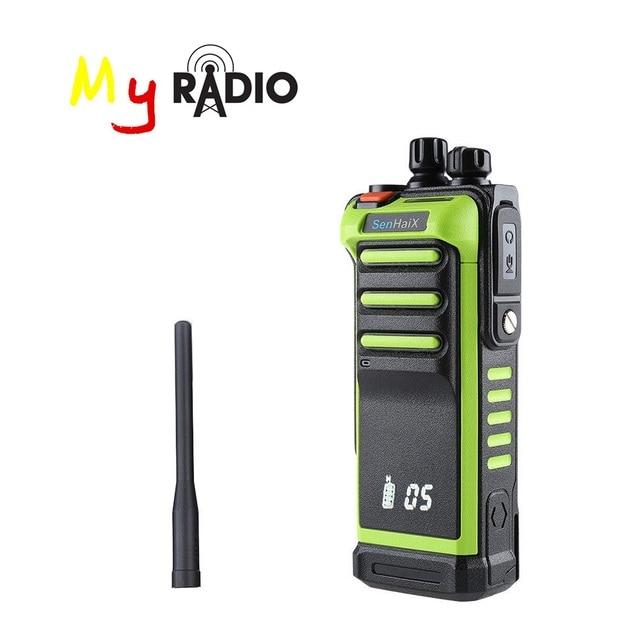 FTL GT 10 talkie walkie multi canaux Radio FM bidirectionnelle UHF 400 ~ 520 Mhz longue portée étanche cache écran desgin émetteur récepteur