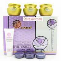 Hot koop taiwan jisha tweede generatie gouden pakket whitening 4 in 1 set whitening cream r3p8