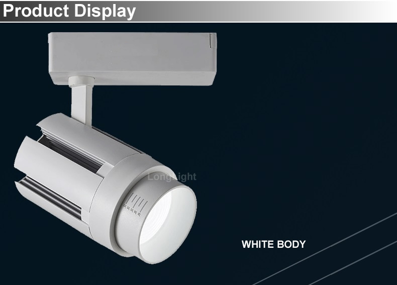 3 фазы 4 провода светодиодный Трековый светильник с регулируемой яркостью масштабируемый 15 Вт 20 Вт 30 Вт рельсовый трек точечный светодиодный светильник для одежды Трековый светильник ing