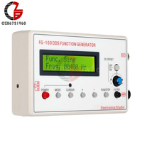 DDS Function Signal Generator Sine Triangle Square Wave Frequency 1HZ 500KHz