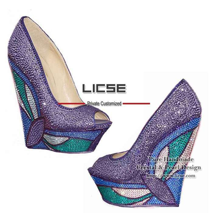 eedcf4f93a72 rhinestone pumps Picture - More Detailed Picture about  LICSE .