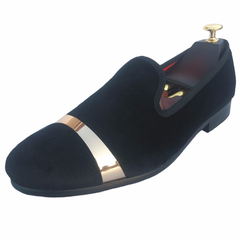New Men Velvet Loafers Formal Dress Shoes Slip on Smoking Slippers Flats with Gold Plate Prom and Party Loafers Size US7-13New Men Velvet Loafers Formal Dress Shoes Slip on Smoking Slippers Flats with Gold Plate Prom and Party Loafers Size US7-13