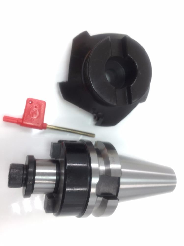New BT30 FMB22 45mm M12 holder +SE-KM12-45 degree face mill cutter KM12 50-22-4T + 10pcs SEKT1204 steel carbide inserts цена