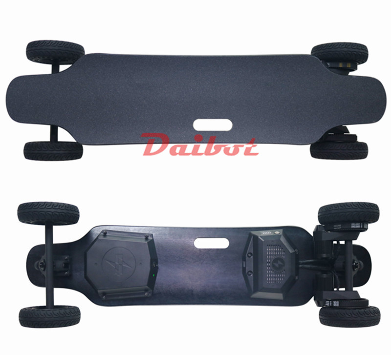 4 roues skateboard électrique Scooter Offroad double moteur Électrique Scooters Eectric skateboard cruiser Pour Adultes À Double Usage