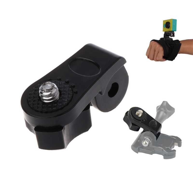 1/4 Tripod Mount Adapter Bicycle Holder Monopod Converter for Go pro Hero Camera Drop Shipping Support