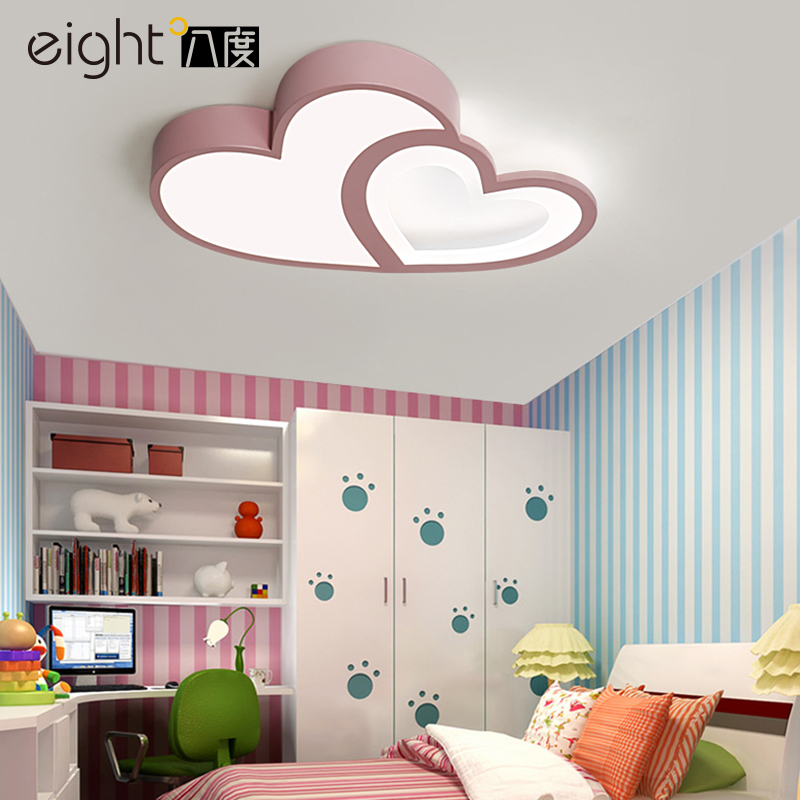 Modern LED ceiling lights living room ceiling lamps crystal fixtures Acrylic illumination children's bedroom ceiling lighting купить недорого в Москве