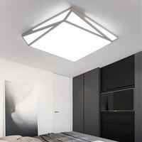 Ceiling Lamp Modern LED Flush Mount Ceiling Light 110 220v Bedroom Kitchen Lighting Simple Chinese Ceiling