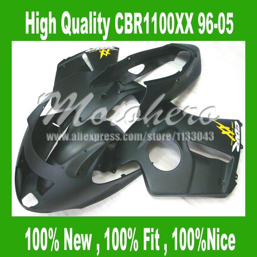 Matte black Fairing for Honda CBR1100XX 1996 2005 CBR1100 XX 96 05 CBR 1100XX 96 05 CBR 1100 XX 96 05 fairings kit #SU33R4