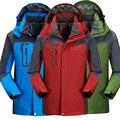 Spring Autumn Men Jackets Brand-clothing Coat Jaqueta Men Tourism Mountain Sportwear Bomber Jacket Waterproof Windproof Jacket