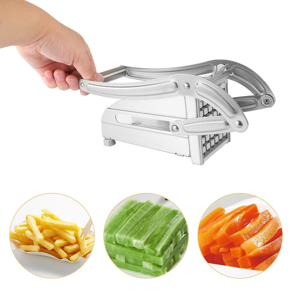 Stainless Steel Household Potato Strip-cutter Картофель фри