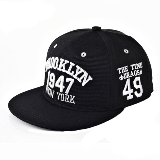 1947 Brooklyn Style Baseball Cap Sport Hat Gorras Planas Snapback Caps New  York Hip Hop Hats Snapbacks Casquette Polo Cap 7301f7fb903