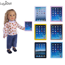Luckydoll ipad Tablet Computer Model fit 18 inch American Doll or 43cm 18