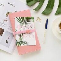 9 Lovely Macaron Colors Standard Planner DIY Travel Notepad Cute Portable Diary Kawaii Journal Book Pocket