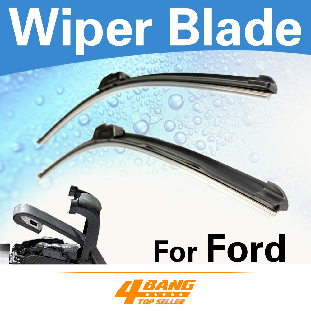 Car styling 3pcs 16 20 20 rubber windshield wiper blades frameless bracketless for ford excursion explorer expedition