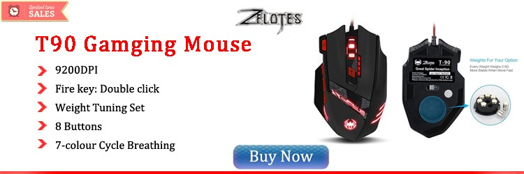 zelotes T90 gaming mouse