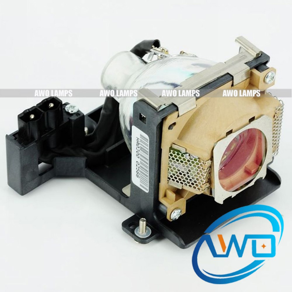 AWO Compatible TLPLD1 TLPLD2 Projector Lamp Replacement with Housing for TOSHIBA TDP-D1/D2 compatible tlplw11 for toshiba projector lamp with housing
