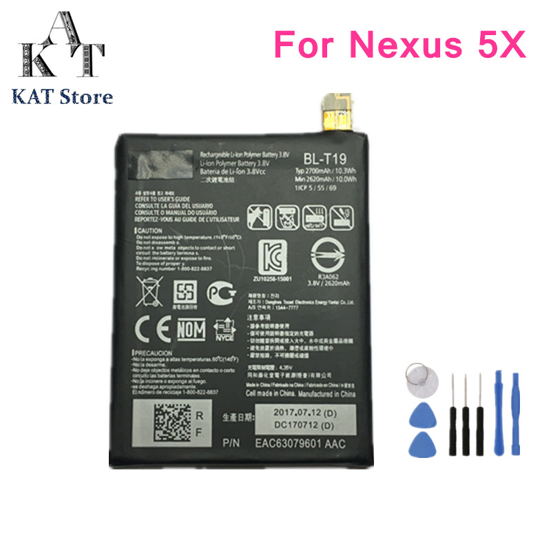 Phone-Battery Nexus H791 Battery-Replacement For LG 5X H791/H798/H790 High-Quality AAA
