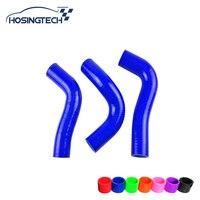 HOSINGTECH-Voor Mazda Roadstar Miata MX5 1.8L NA8C BPZE blauw Silicone Radiator Heater Slang Kit
