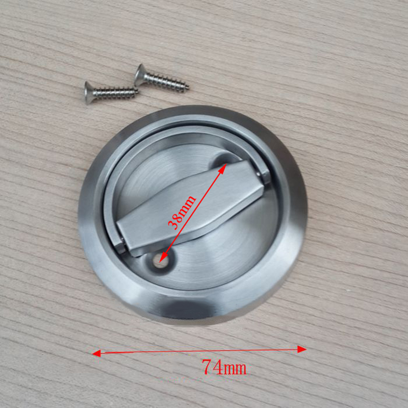 Brand New 10PCS Stainless Steel Recessed Invisible Cup Handle Hidden ...