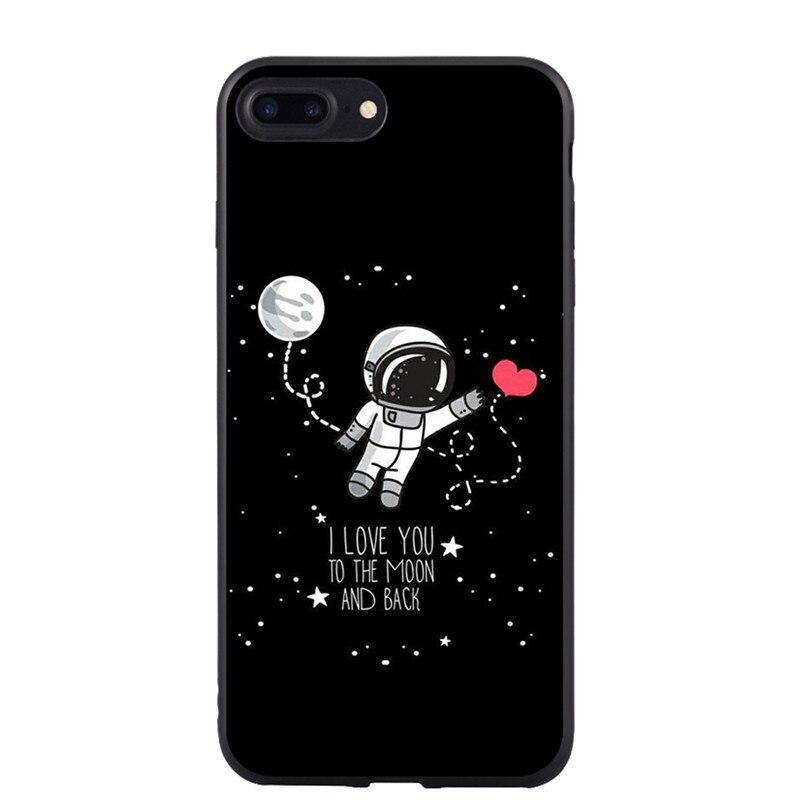 Cellphones & Telecommunications Honey Tomocomo Cartoon Airship Astronaut Stars Moon Case For Iphone 8 8plus Case Over Hard Pc Phone Cases For Iphone7 7 Plus Capa