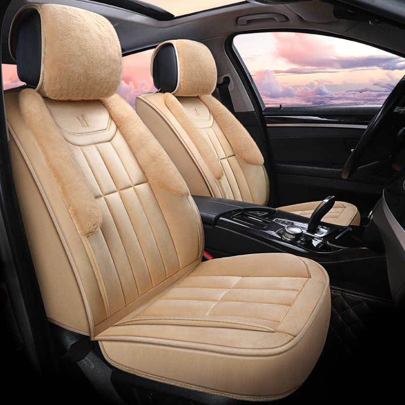 Winter Plush Car Seat Cover Cushion For Toyota Camry Corolla RAV4 Civic Highlander Land cruiser Prius verso Car pad