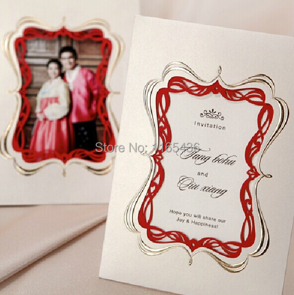 Us 85 0 New Style Wedding Invitations White Upscale Paper Flawless Unique Fiche Free Of Charge Text Printing On Aliexpress Com Alibaba