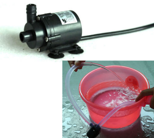 Dc 6v 12v Micro Brushless Submersible Motor Water Pump F