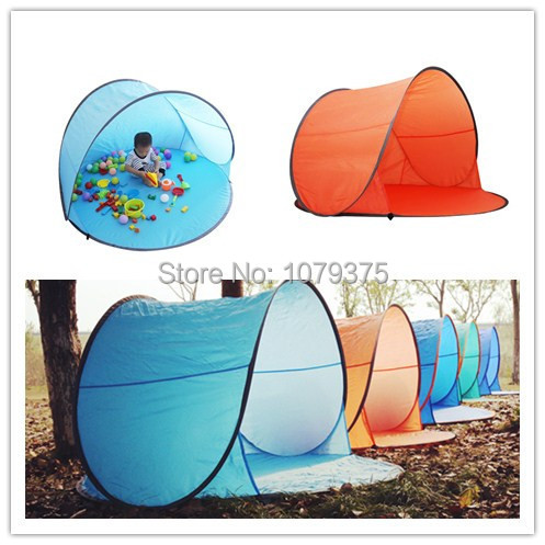 Free shipping Outdoor c&ing tent beach tent UV protection fully automatic sun shelter quick open pop  sc 1 st  AliExpress.com & Free shipping Outdoor camping tent beach tent UV protection fully ...