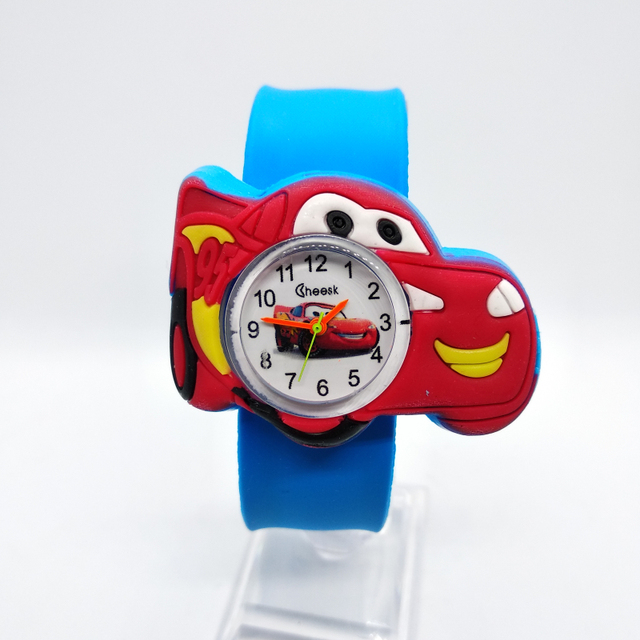 Good Quality Children watch for boys manufacturers cartoon auto Silicone Tape pa