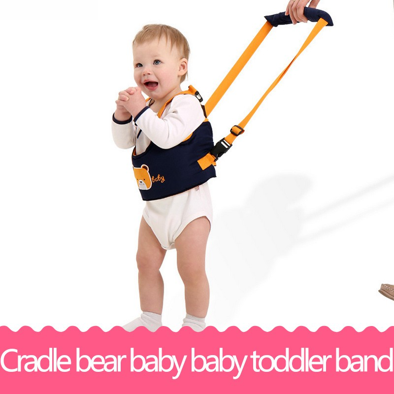 Cradle bear baby toddler band Baby Walking Belt Adjustable Strap Leashes Children Walking Assistant Band cute Safety Baby Belt yourhope baby toddler harness safety learning walking assistant pink