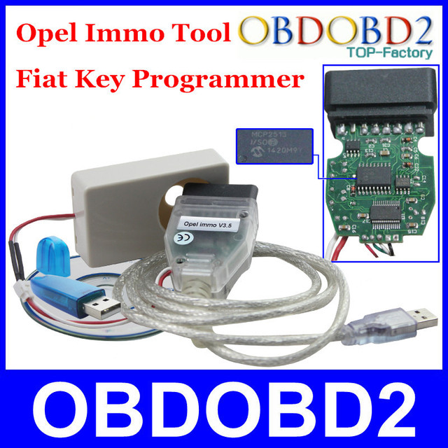 US $49 0 |High Recommended For Opel Key Pro Newest Version V3 5 For Fiat  Immo Tool For Opel Pin Code Reader Clear Engine ECU Prorgammer -in Auto Key