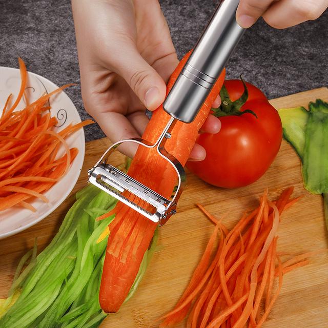 Multi-function Julienne Peeler Stainless Steel Vegetable