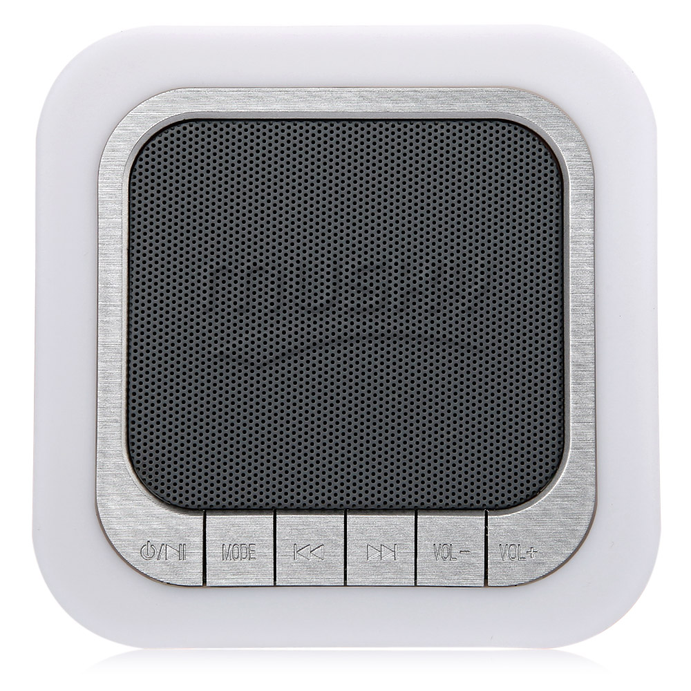 MUSKY DY28 Portable Wireless Stereo Bluetooth Speaker Microphone LED Time Display Hands-free Call Loudspeaker AUX Audio Input
