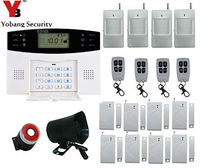 Freeshipping DHL Home Security Wireless GSM Alarm System For Home Security System Auto Dialer PIR Motion