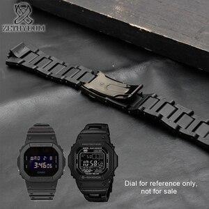 Image 4 - Plastik saat bandı 26*16mm kayış DW 6900/DW9600/DW5600/GW M5610 ve paslanmaz çelik kasa tampon aksesuarları