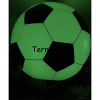 advertising inflatable led lighting football soccer beach ball PVC helium balloon large sky balloons