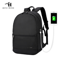 ARCTIC HUNTER 2017 Laptop Backpack External USB Charge Computer Backpacks Waterproof Bags For Men Women Anti
