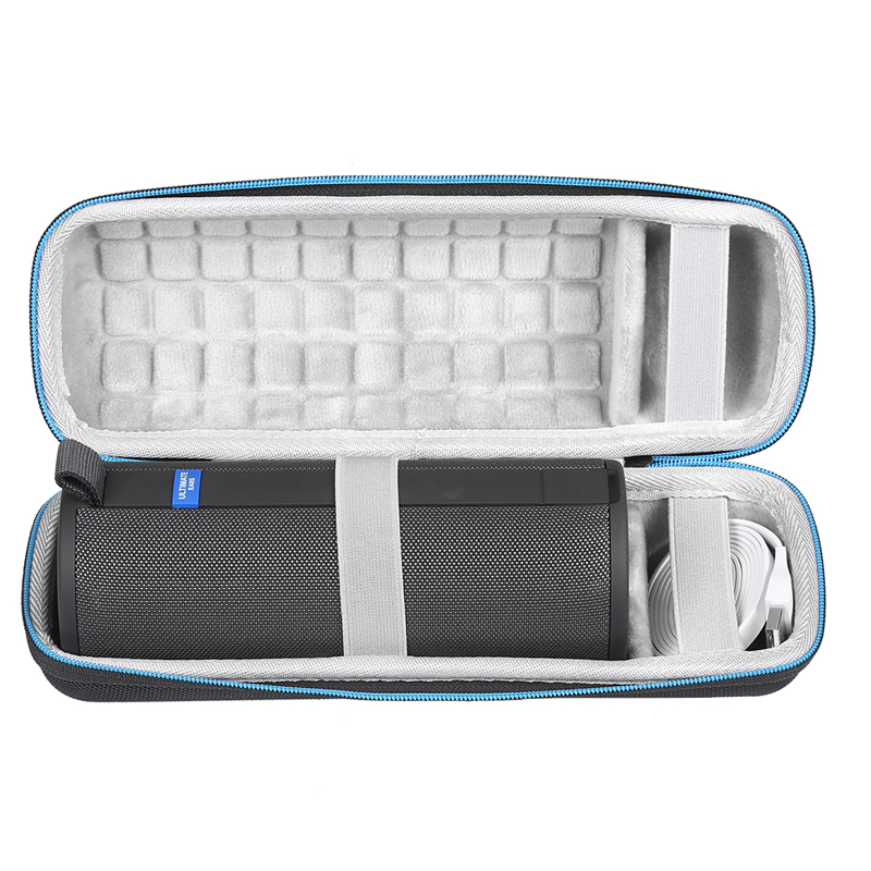 Hard Case For Logitech  UE BOOM 3 Wireless Bluetooth Speaker Fits USB Cable And Charger Bluetooth Speaker Bag Speaker Shell