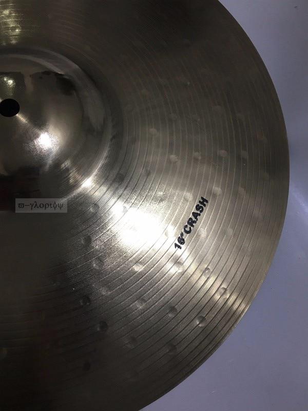 Professional B20 16 crash Cymbal for Drum Set