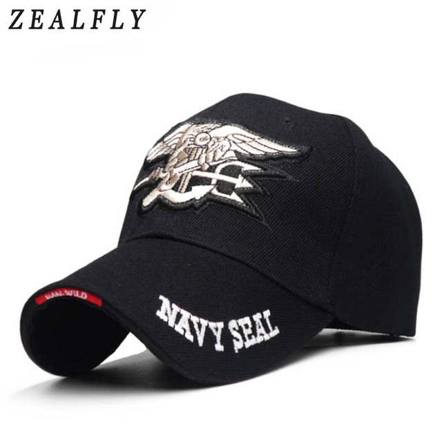 3b970e0ee65 Navy Seals Cap Tactical Army Cap Letter Embroidery Baseball Hat US NAVY Snapback  Hat For Men