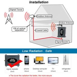 Image 3 - الجيل الثالث 3G WCDMA UMTS 2100 ميجا هرتز الخلوية إشارة مكرر مجموعة كاملة 3G شبكة الداعم تعزيز 2100 مكالمة صوتية عبر الإنترنت