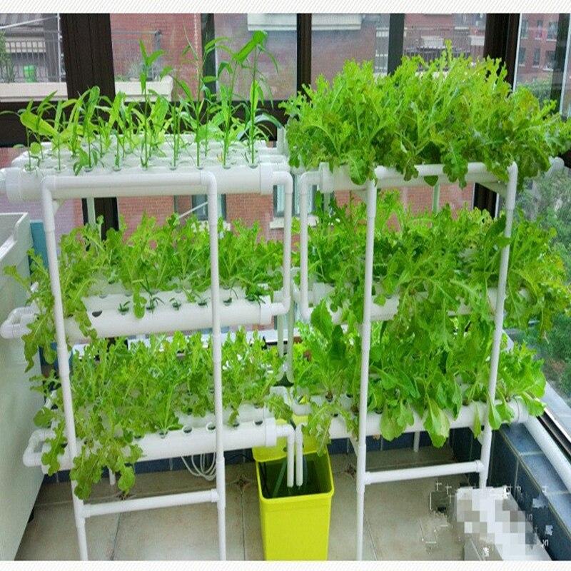 3 Lapisan 12 Pipa Pvc Nft Hidroponik Sistem Tanam Sayuran