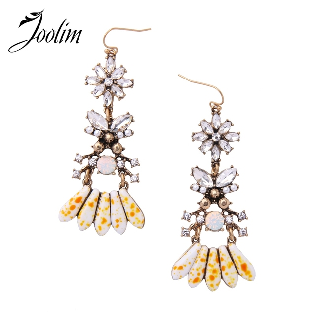 Joolim jewelry wholesale2017 clear crystal flower chandelier joolim jewelry wholesale2017 clear crystal flower chandelier earring high quality jewelry apparel accessories free aloadofball Images