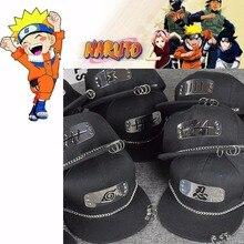 Anime Naruto Hat Cosplay Costumes Sharingan Cap baseball Hip-hop hat Iron ring