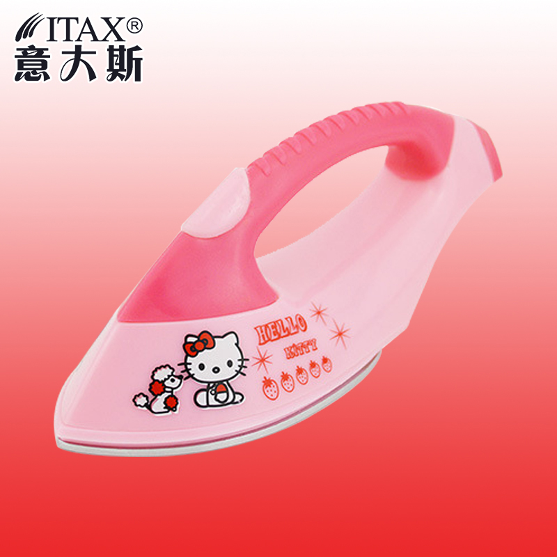 Mini Electric Iron Essential Portable Electric Iron Steam Presses for Travel Hostel Free Shipping ITAS1304