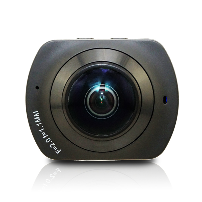 WIFI Panoramic 360 VR Camera Degree Cam 2K HD Wide Dual Angle Fish Eye Lens VR Video Camera Support TF for Andriod Smartphone