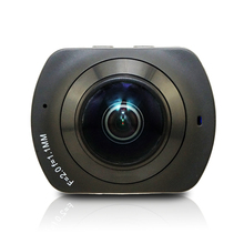 WI-FI панорамный 360 VR Камера градусов cam 2 К HD Широкий двойной угол рыбий глаз VR видео Камера Поддержка TF для Andriod смартфон