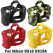 Ming Camera Bag for NIKON D810 Lightweight Case Protective Cover nikon D810a Camouflage Black red colour