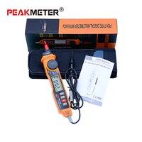 Sending With Box HYELEC MS8211 Digital Multimeter With Probe ACV DCV Electric Handheld Tester Multitester Portable
