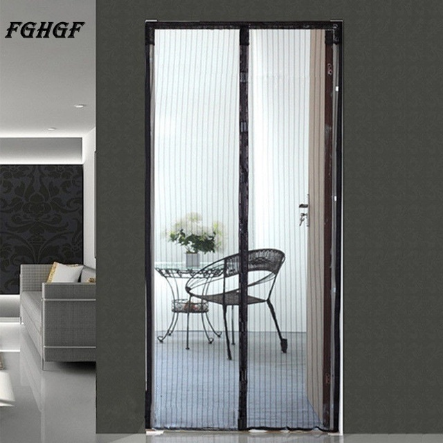 FGHGF Curtains Of Mosquito Magnetic Mesh Net Instant Screen Door Closure Dual Open Curtain 210 & FGHGF Curtains Of Mosquito Magnetic Mesh Net Instant Screen Door ...